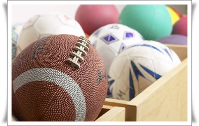 Image of Balls Used in Sports