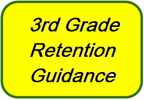 3rd Grade Retention Guidance