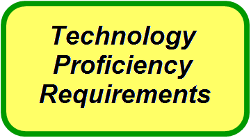 Technology Proficiency Requirements Link